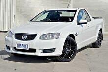 2011 Holden Ute VE II Omega White 6 Speed Sports Automatic Utility Frankston Frankston Area Preview