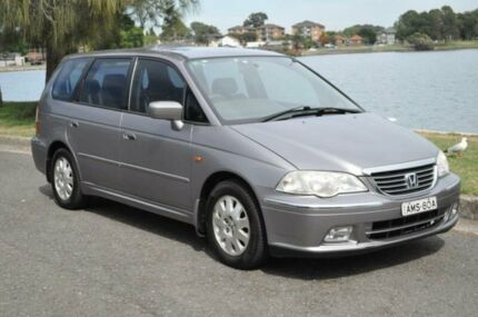 2002 Honda Odyssey V6L (6 Seat) Grey 5 Speed Sequential Auto Wagon