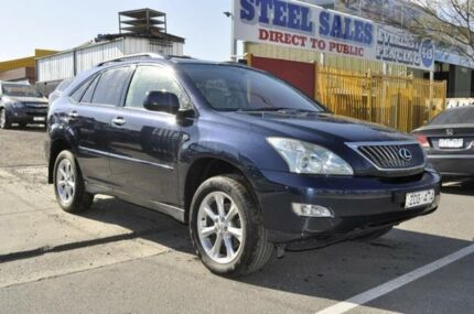 2008 Lexus RX350 GSU35R 07 Upgrade Special Edition Blue 5 Speed Sequential Auto Wagon Hoppers Crossing Wyndham Area Preview