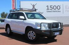 2011 Toyota Landcruiser VDJ200R MY10 GXL White 6 Speed Sports Automatic Wagon Balcatta Stirling Area Preview