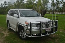 2012 Toyota Landcruiser VDJ200R MY12 VX Pearl White 6 Speed Sports Automatic Wagon Berserker Rockhampton City Preview