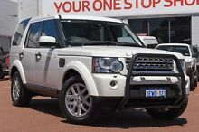2010 Land Rover Discovery 4 Series 4 10MY TdV6 CommandShift SE White 6 Speed Sports Automatic Wagon Balcatta Stirling Area Preview