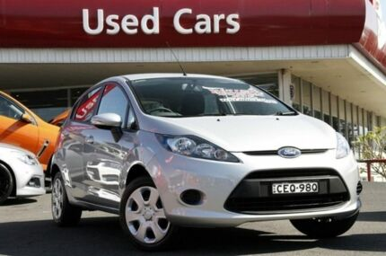 2011 Ford Fiesta WT CL PwrShift Silver 6 Speed Sports Automatic Dual Clutch Hatchback Liverpool Liverpool Area Preview
