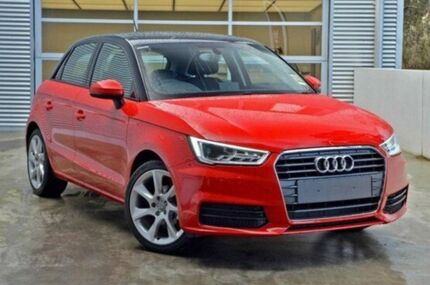 2015 Audi A1 8X MY15 Sportback S tronic Misano Red/Brilliant Black Roof 7 Speed Sports Automatic Dua Berwick Casey Area Preview