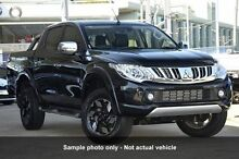 2016 Mitsubishi Triton MQ MY16 Upgrade Exceed (4x4) Black 5 Speed Automatic Dual Cab Utility Mount Gravatt Brisbane South East Preview