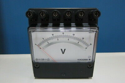 Yokogawa 2051 205105 Dc Voltmeter Miniature-size Portable 0.3131030 V