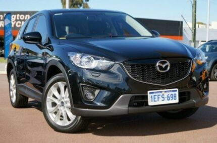 2013 Mazda CX-5 KE1071 Grand Touring SKYACTIV-Drive AWD Black 6 Speed Auto Seq Sportshift Wagon Wilson Canning Area Preview