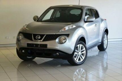 2014 Nissan Juke F15 MY14 ST 2WD Silver 5 Speed Manual Hatchback Southport Gold Coast City Preview