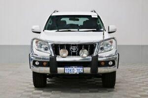 2010 Toyota Landcruiser Prado GRJ150R GXL (4x4) White 6 Speed Manual Wagon