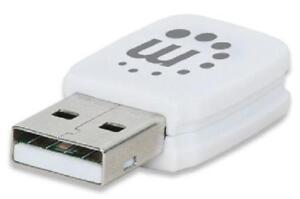 Manhattan IEEE 802.11ac - Wi-Fi Adapter for Desktop Computer and Notebook