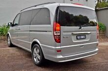 2011 Mercedes-Benz Viano  Silver Automatic Wagon Burwood Whitehorse Area Preview