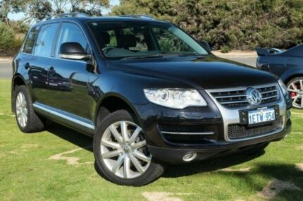 2009 Volkswagen Touareg 7L MY10 V10 TDI 4XMOTION Black 6 Speed Auto Seq Sportshift Wagon Wangara Wanneroo Area Preview