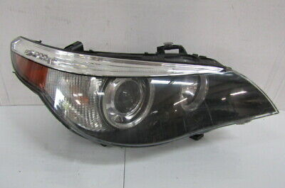 04 05 BMW 5 SERIES 525I 530I 545I 550I OEM RIGHT XENON HID HEADLIGHT WITH AFS T1