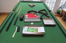 Snooker Table 6ft Folding table (BCE)