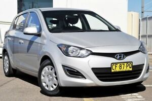 2014 Hyundai i20 PB MY14 Active Silver 4 Speed Automatic Hatchback Gosford Gosford Area Preview