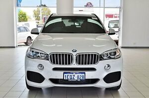 2015 BMW X5 F15 MY15 xDrive 40D White 8 Speed Automatic Wagon Morley Bayswater Area Preview