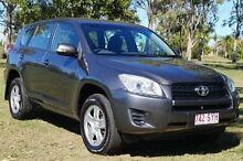 2012 Toyota RAV4 ACA33R MY12 CV Grey 4 Speed Automatic Wagon Bundaberg West Bundaberg City Preview
