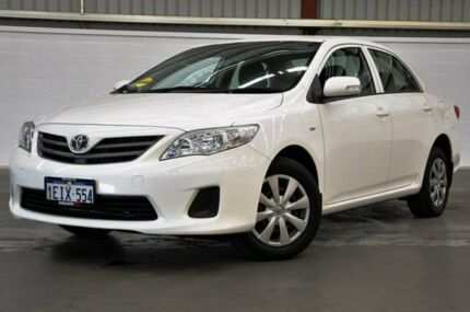 2013 Toyota Corolla ZRE152R Ascent White 4 Speed Automatic Sedan Thornlie Gosnells Area Preview
