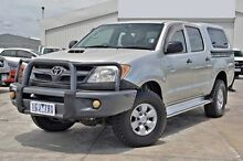 2005 Toyota Hilux  Silver Automatic Utility Cranbourne Casey Area Preview