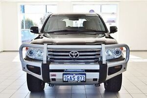 2012 Toyota Landcruiser VDJ200R MY12 Sahara (4x4) Black 6 Speed Automatic Wagon Morley Bayswater Area Preview
