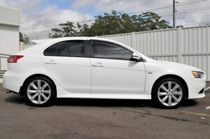 2014 Mitsubishi Lancer CJ MY14.5 GSR Sportback White 6 Speed Constant Variable Hatchback