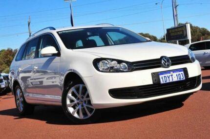 2012 Volkswagen Golf VI MY12.5 103TDI DSG Comfortline White 6 Speed Sports Automatic Dual Clutch Wag Wangara Wanneroo Area Preview