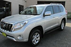 2014 Toyota Landcruiser Prado KDJ150R MY14 GXL (4x4) Silver 5 Speed Sequential Auto Wagon