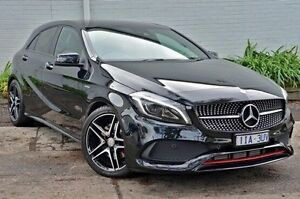 2016 Mercedes-Benz A250 Black Sports Automatic Dual Clutch Hatchback Burwood Whitehorse Area Preview