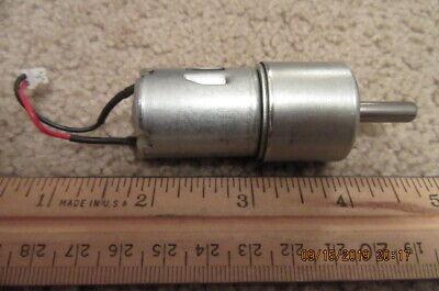 Small Dc Electric Motor 12 Vdc Gear Motor M121