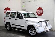 2012 Jeep Cherokee KK MY12 Sport Bright White 4 Speed Automatic Wagon Frankston Frankston Area Preview