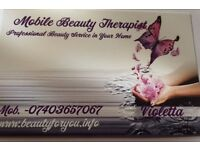 Beautician provide beauty services in Nottingham,Mobile visits available!