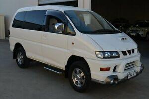 2001 Mitsubishi Delica Chamonix (Spacegear) White 4 Speed Automatic Wagon Brompton Charles Sturt Area Preview