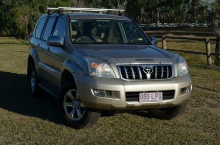 2006 Toyota Landcruiser Prado GXL Gold 5 Speed Automatic Wagon Berserker Rockhampton City Preview