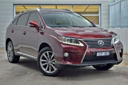 2015 Lexus RX350 GGL15R Sports Luxury Red 6 Speed Sports Automatic Wagon