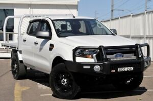 2015 Ford Ranger PX MkII XLS Double Cab White 6 Speed Sports Automatic Utility Gosford Gosford Area Preview