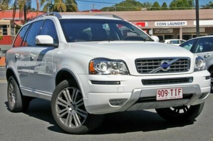 2013 Volvo XC90 P28 MY14 D5 Geartronic Executive White 6 Speed Auto Seq Sportshift Wagon Mount Gravatt Brisbane South East Preview