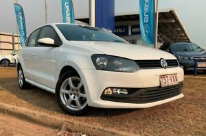 2015 Volkswagen Polo 6R MY15 66TSI Trendline White 5 Speed Manual Hatchback Berrimah Darwin City Preview