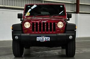 2011 Jeep Wrangler JK MY2011 Sport Red 4 Speed Automatic Softtop Thornlie Gosnells Area Preview