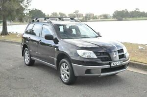 2006 Mitsubishi Outlander ZF MY06 Activ Black 4 Speed Auto Sports Mode Wagon Croydon Burwood Area Preview