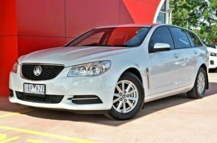 2014 Holden Commodore VF MY14 Evoke Sportwagon White 6 Speed Sports Automatic Wagon