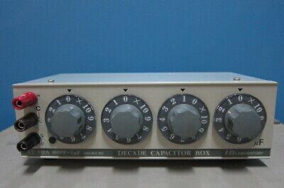Ed Laboratory Cu-410a Decade Capacitor Box 100pf-1uf 250wv Dc