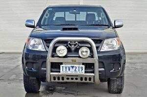 2006 Toyota Hilux KUN26R MY05 SR5 Black 4 Speed Automatic Utility Seaford Frankston Area Preview