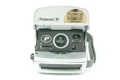 RARE SILVER Polaroid P 600 Instant Camera PRINTED MANUAL+GUIDE TO BEST
