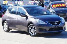 2014 Nissan Pulsar  Grey Constant Variable Hatchback Greenacre Bankstown Area Preview