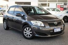 2007 Toyota Corolla ZZE122R 5Y Ascent Grey 4 Speed Automatic Hatchback Osborne Park Stirling Area Preview