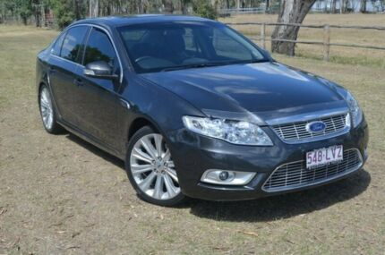 2009 Ford Falcon FG G6E Turbo Grey 6 Speed Automatic Sedan Berserker Rockhampton City Preview