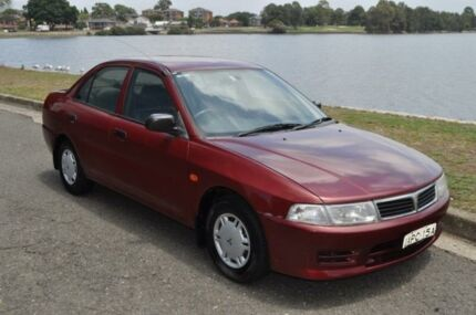 1998 Mitsubishi Lancer CE GLi Maroon 4 Speed Automatic Sedan