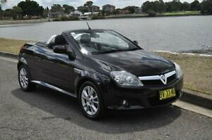 2005 Holden Tigra XC Black 5 Speed Manual Convertible Croydon Burwood Area Preview