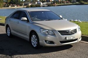 2007 Toyota Aurion GSV40R Prodigy Champagne 6 Speed Sequential Auto Sedan Croydon Burwood Area Preview