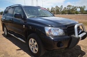 2007 Toyota Kluger MCU28R MY06 CV AWD Black 5 Speed Automatic Wagon Vincent Townsville City Preview